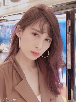 夏日粉紫×中髮