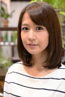 くせ毛で艶が無くても大丈夫☆艶々美人髪ストレート
