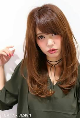 ふんわりカール × 柔らかベージュ = 愛され日本代表。