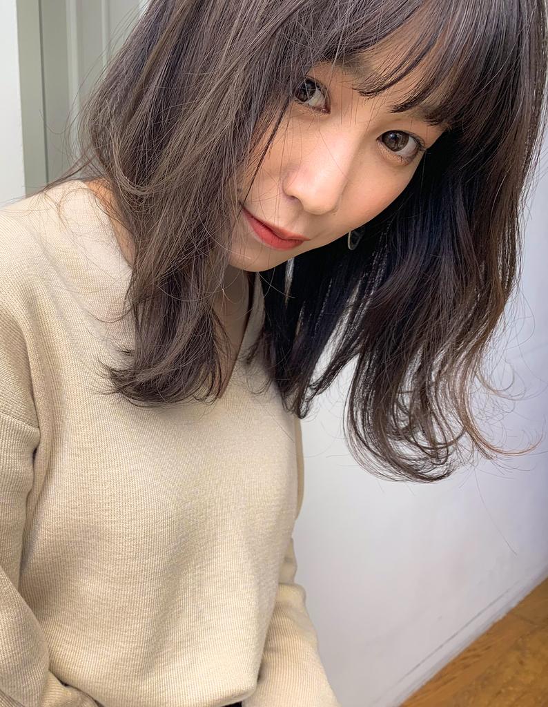 【Violet】絶妙透け感バング☆ゆる巻きウェーブ♪
