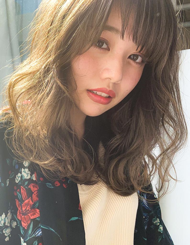 【Violet】レイヤーで決まり☆柔らかスタイル
