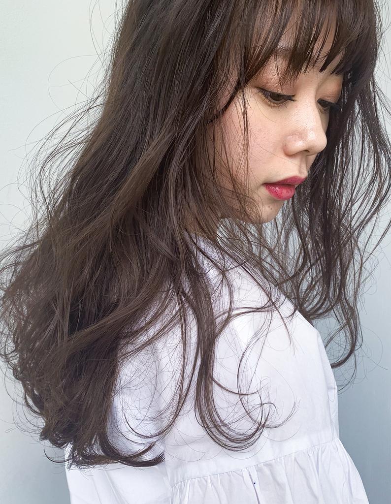 【Violet栄店】ぬけ感☆無造作セミロングウェーブ