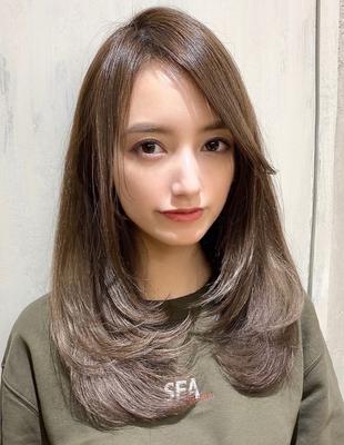 ひし形◇シルエット 女性らしい曲線 ベージュカラー (SHー6)