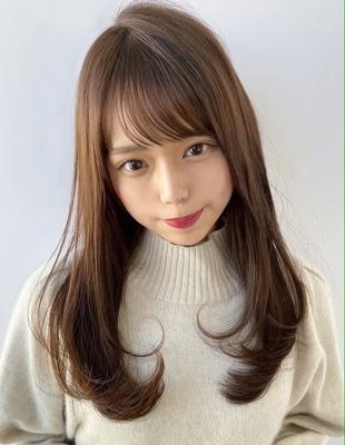 長めの髪型もシルエットが大切 似合わせ前髪幅 (SH-14)