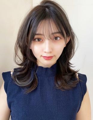 ひし形◇レイヤースタイル 大人綺麗なクビレ髪 (SH-90)