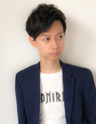 大人ナチュラル毛流れスタイル(shu-)