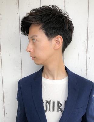 大人ナチュラルサイドスタイル(shu-)