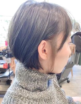 耳かけオシャレインナーカラーショートボブ(YK−358)
