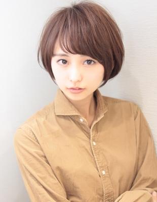 新垣結衣さん風ショートボブパーマ(SG-293)