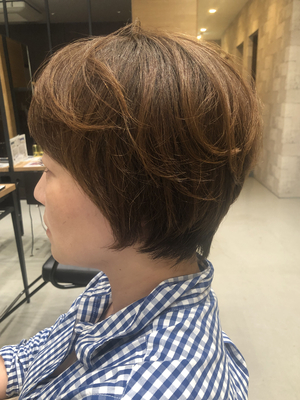 【The C 春木】簡単スタイリングショートヘア