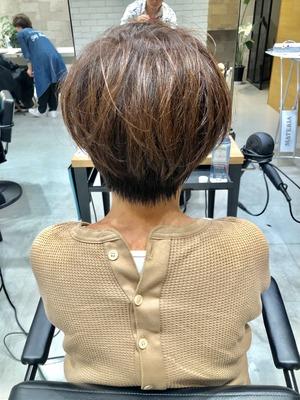 【The C 春木】首周りやシルエットが綺麗に見えるショートヘア