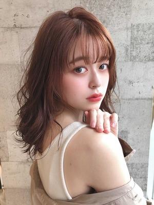 [The C 重田] 韓国風☆ゆるっと ミディアムヘア