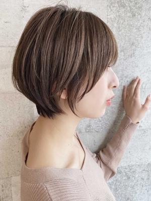 [The C 重田] 小顔効果 ショートヘア 横顔美人