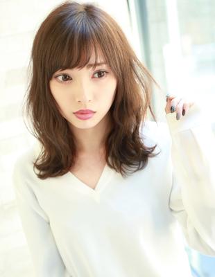 女子力アップ巻き髪風パーマ(TM-35)