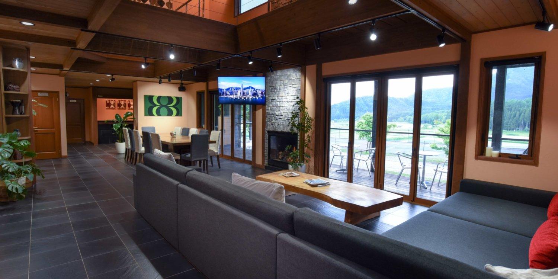 Powderhouse Living Dining Area