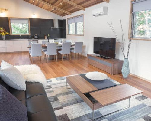 Bluebird Chalets Living Room