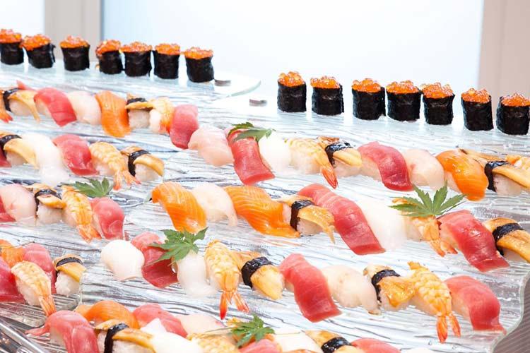 結婚式 モンテファーレ 寿司BAR