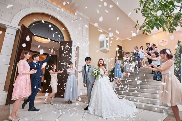 結婚式 モンテファーレ フラワーシャワー