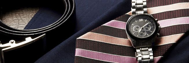 時計 ネクタイ スーツ