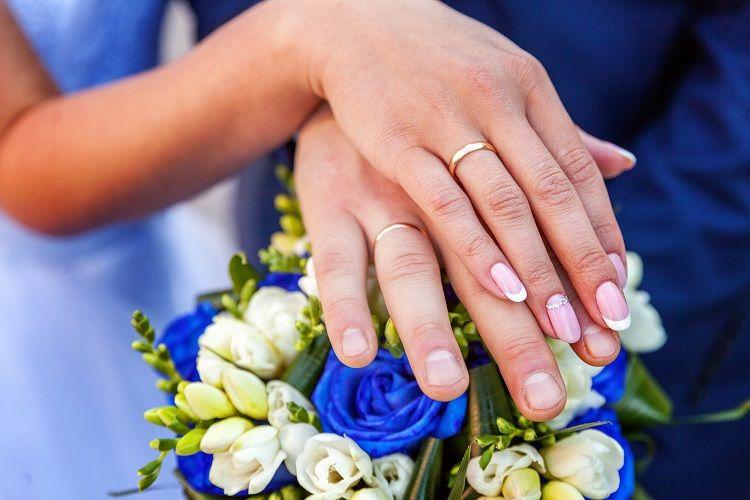 新郎新婦 結婚指輪