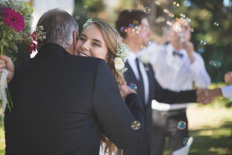結婚式 家族 親