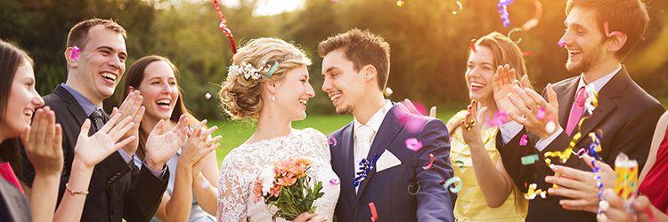 結婚式 カップル