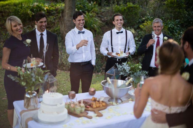 家族 結婚式