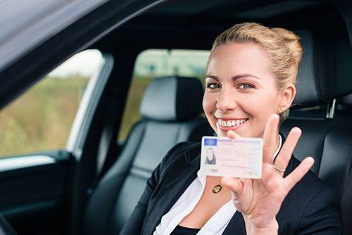 女性,運転免許証