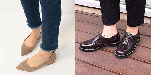 ブライダルフェア用の靴(フラットシューズ)