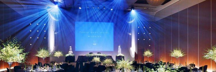 結婚式 スクリーン・照明・音響