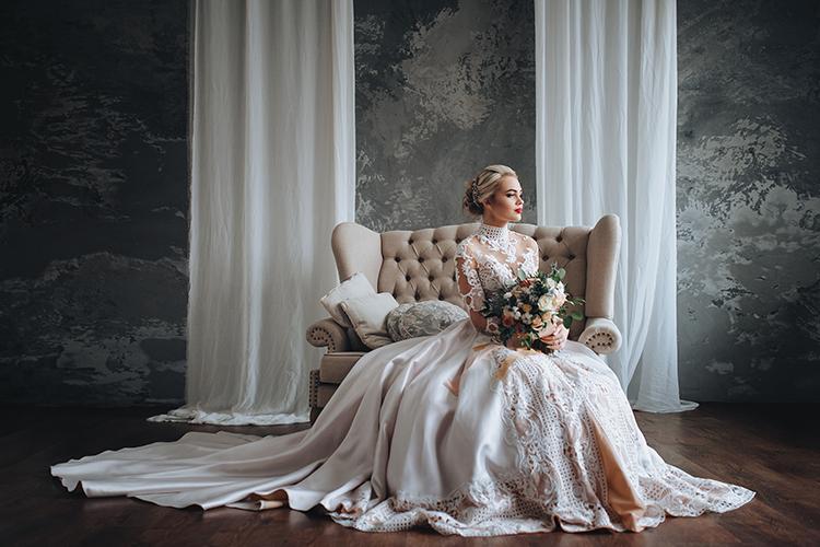 ウエディングドレス 花嫁