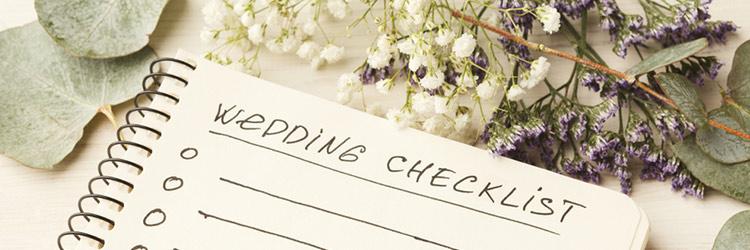 チェックリスト 結婚式