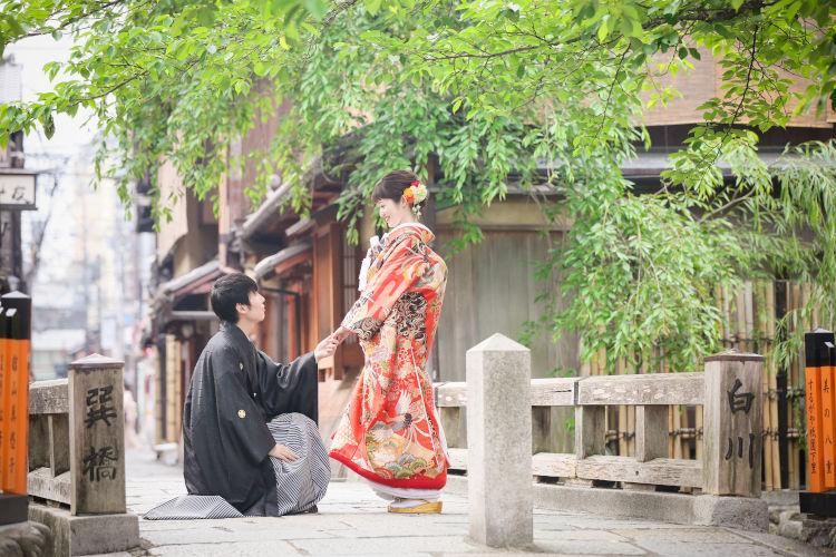 ハナユメフォト 京都 前撮り