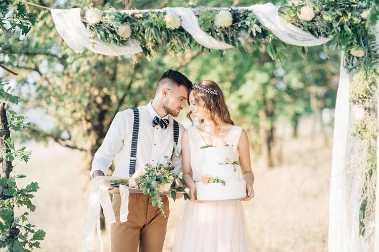 花嫁に人気のナチュラルウエディング!その魅力とアイテム紹介