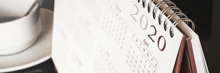 2020 年 開運 カレンダー