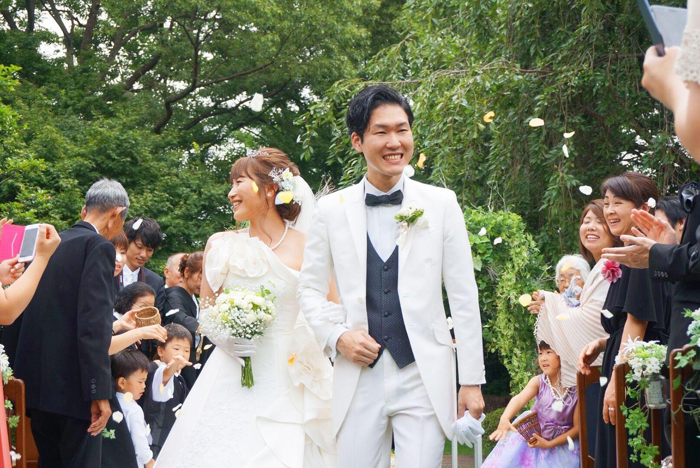 結婚式 フラワーシャワー ウエディング