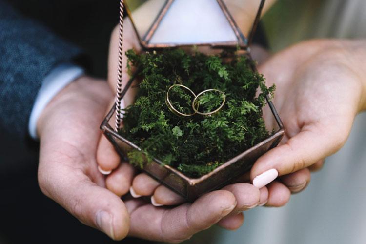 リングピロー 指輪