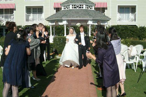 結婚式 バブルシャワー シャボン玉
