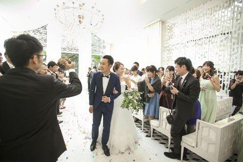 結婚式 スターシャワー