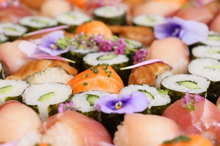 結婚式 披露宴 お寿司ブッフェ 演出 料理