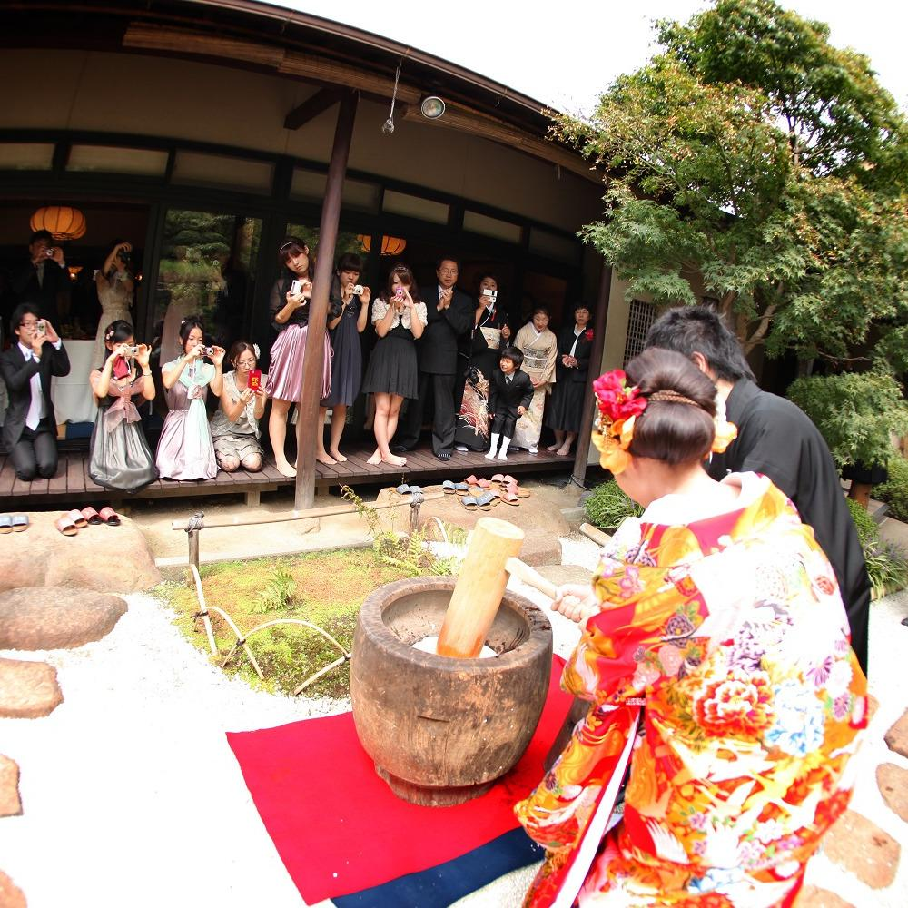 結婚式 餅つき 披露宴 演出