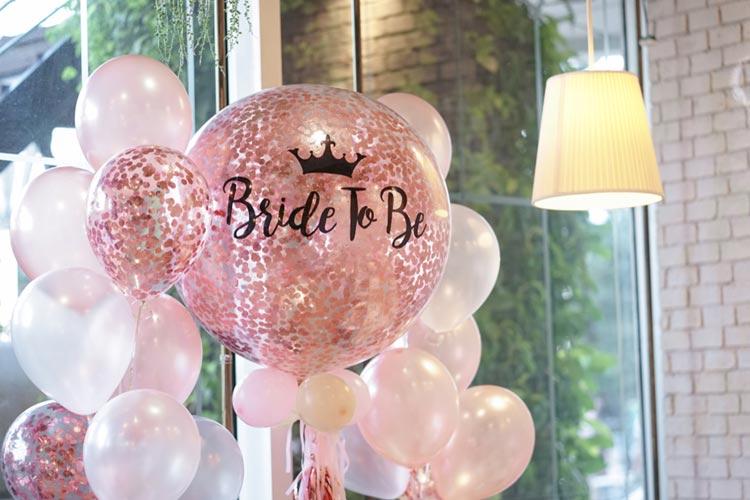 コンフェッティ バルーン かわいい ピンク