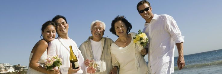 結婚式 ファミリー 写真 家族写真