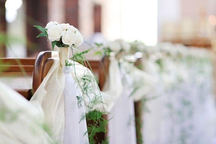 リングリレー 結婚式 花