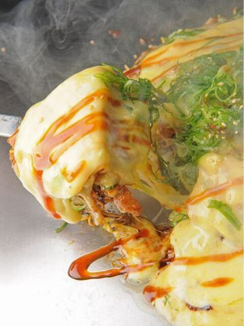 チーズお好み 焼くんじゃ 広島駅 ランチ おすすめ お好み焼き