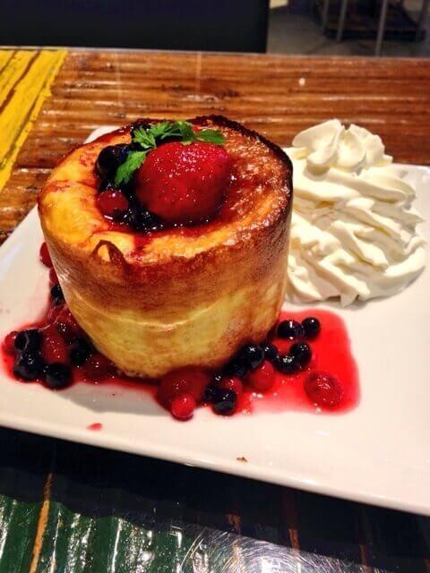 カフェアサンパンケーキ