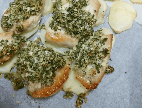 豚肉パン粉焼き005