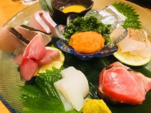 佐賀 佐賀駅 佐賀市内 居酒屋 恵水産 鮮魚 和食 刺身盛り合わせ