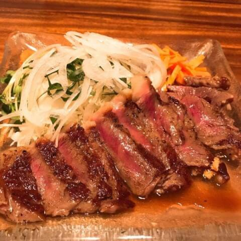 牛肉のタタキ