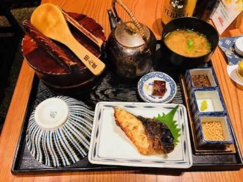 銀鱈定食 おひつ膳 田んぼ 代々木 ランチ おすすめ 和食